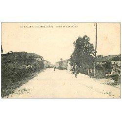 carte postale ancienne 55 ERIZE-SAINT-DIZIER. Route de Bar-le-Duc