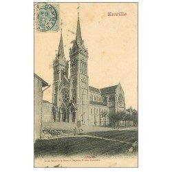 carte postale ancienne 55 EUVILLE. L'Eglise 1905