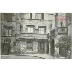 carte postale ancienne 12 RODEZ. Maison Place d'Estaing