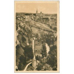 carte postale ancienne 12 RODEZ. Vue sur Saint-Cyrice et l'Aveyron