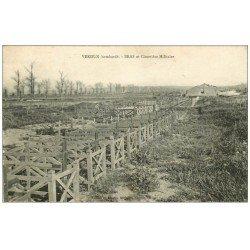 carte postale ancienne 55 VERDUN. Bras et Cimetière Militaire 1927. Guerre 1914-18