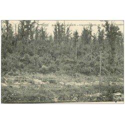 carte postale ancienne 55 VERDUN. Cimetière Tunnel de Tavanne. Guerre 1914-18