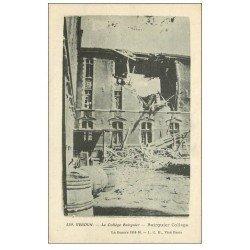 carte postale ancienne 55 VERDUN. Collège Buirguier. Guerre 1914-18