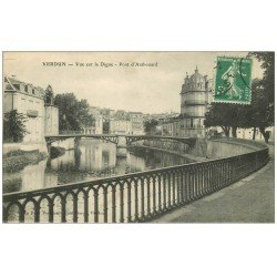 carte postale ancienne 55 VERDUN. Digue Pont d'Anthouard