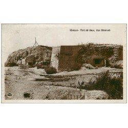 carte postale ancienne 55 VERDUN. Fort de Vaux 1931. Guerre 1914-18