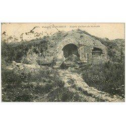 carte postale ancienne 55 VERDUN. Fort Souville 1928. Guerre 1914-18