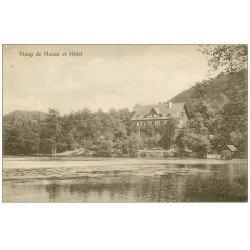 carte postale ancienne 57 ETANG DE HANAU. L'Hôtel 1922