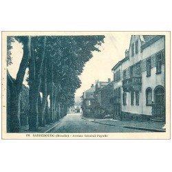 carte postale ancienne 57 SARREBOURG. Avenue Général Fayolle. Timbre absent