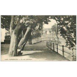 carte postale ancienne 57 SARREBOURG. Un coin pittoresque 1933