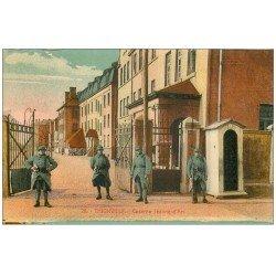 carte postale ancienne 57 THIONVILLE. Caserne Jeanne-d'Arc 1923