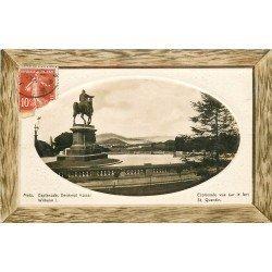 carte postale ancienne 57 METZ. Esplanade vue sur le Fort Saint-Quentin 1912