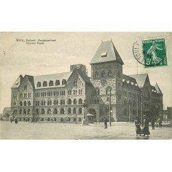 carte postale ancienne 57 METZ. Grande Poste vers 1910