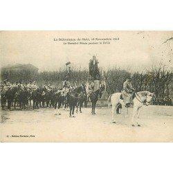 carte postale ancienne 57 METZ. Délivrance de la Ville. Maréchal Pétain pendant le Défilé 1919