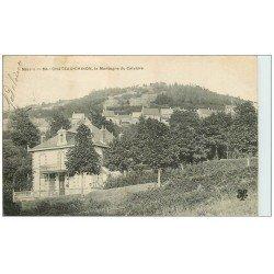 carte postale ancienne 58 CHATEAU-CHINON. La Montagne du Calvaire 1905