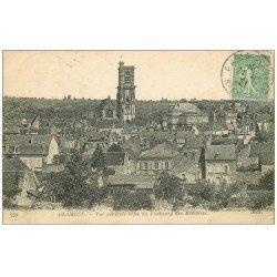 carte postale ancienne 58 CLAMECY. Faubourg des récollets 1921
