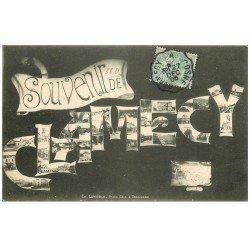 carte postale ancienne 58 CLAMECY. Souvenir Fantaisie 1905