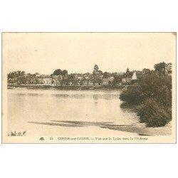 carte postale ancienne 58 COSNE-SUR-LOIRE. La Pêcherie