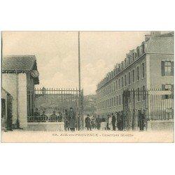 carte postale ancienne 13 AIX-EN-PROVENCE. Caserne Miollis 1919
