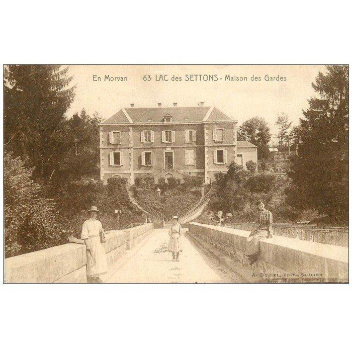 58 lac des settons maison des gardes 1930 for Ancienne maison des gardes lourmarin france
