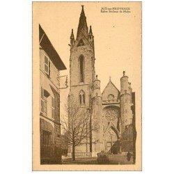 carte postale ancienne 13 AIX-EN-PROVENCE. Eglise Saint-Jean de Malte