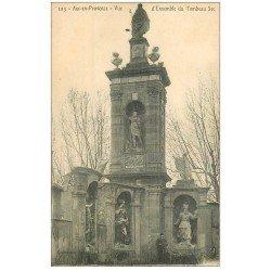 carte postale ancienne 13 AIX-EN-PROVENCE. Ensemble du Tombeau Sec