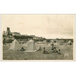 carte postale ancienne 58 NEVERS. La Plage 1939. Carte Photo