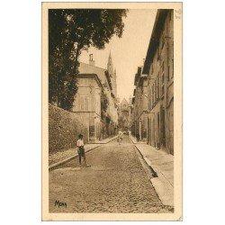 carte postale ancienne 13 AIX-EN-PROVENCE. La Rue Cardinale