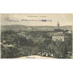 carte postale ancienne 13 AIX-EN-PROVENCE. Vue générale 1904
