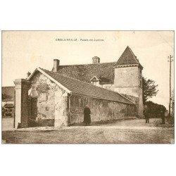 carte postale ancienne 60 AMBLAINVILLE. Palais de Justice 1936