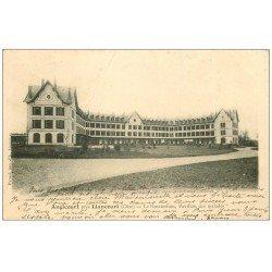 carte postale ancienne 60 ANGICOURT. Le Sanatorium Pavillon des Malades 1903