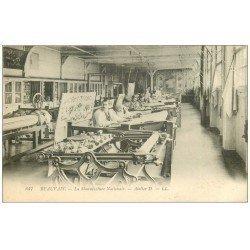 carte postale ancienne 60 BEAUVAIS. Manufacture Nationale. Atelier DD