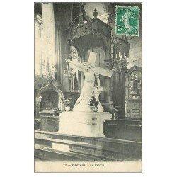 carte postale ancienne 60 BRETEUIL SUR NOYE. Le Pardon 1915