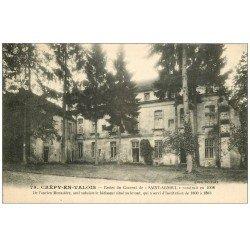 carte postale ancienne 60 CREPY-EN-VALOIS. Couvent Saint-Arnoul 1926