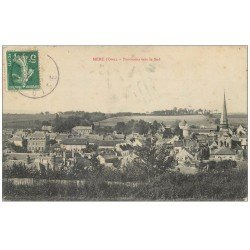 carte postale ancienne 60 MERU. Panorama vers le Sud