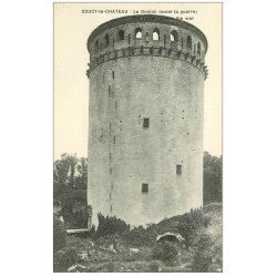 carte postale ancienne 02 COUCY-LE-CHATEAU. Le Donjon