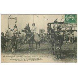 Superbe Lot 10 Cpa COMPIEGNE 60. Fêtes Jeanne d'Arc, Chasse à Courre Hallali, Haras, Pont, Quartier Cavalerie, Cassine..