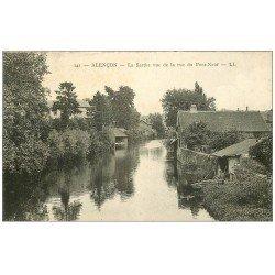 carte postale ancienne 61 ALENCON. La Sarthe
