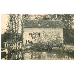 carte postale ancienne 61 ANCEINS. Le Moulin animation 1907