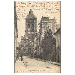 carte postale ancienne 61 BELLEME. L'Eglise 1904. Timbre absent