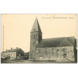 carte postale ancienne 61 BELLOU-EN-HOULME. L'Eglise
