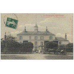 carte postale ancienne 61 CHATEAU DE NUISEMENT 1908 animé