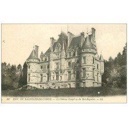 carte postale ancienne 61 CHATEAU GOUPIL OU DU BOIS-BAGNOLES