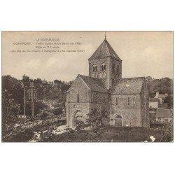 carte postale ancienne 61 DOMFRONT. Lot 10 Cpa. Eglise Notre-Dame-sur-l'Eau, Cent Marches, Chalet Brouillard, Donjon...