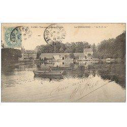 carte postale ancienne 61 FLERS Superbe Lot 10 Cpa. Etang, Allée Parc, Douves Tremblay, Dépendances, Grille Entrée...