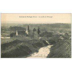 carte postale ancienne 61 LE SENTIER DE SAINT-LANGIS. Mortagne