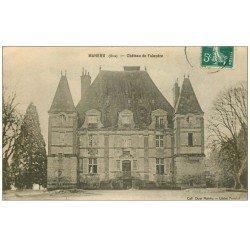 carte postale ancienne 61 MAHERU. Château de Falandre 1911
