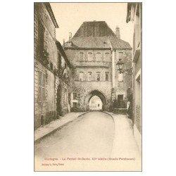 carte postale ancienne 61 MORTAGNE. Portail Saint-Denis Musée