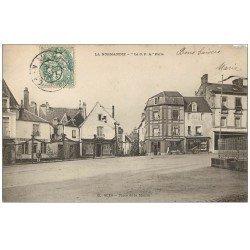 carte postale ancienne 61 SEES. Place de la Mairie 1907