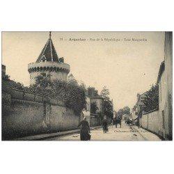 Superbe Lot 10 Cpa 61 ARGENTAN. Le Vavasseur, Place Henri IV, remise Décorations, Jardin, Rue République, Pont Orne...