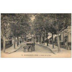 Rare Lot de 10 Cpa 61 BAGNOLES-DE-L'ORNE. Avenue de la Gare, Gondonière, Place Centrale, Pavillon Bains, Eglise...